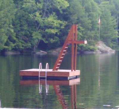 Swim Rafts Floating Picnic Tables White Water Docks